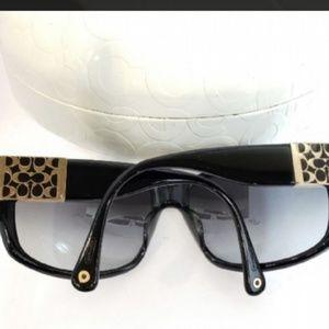 e071e249d636 ... promo code coach accessories coach nina black sunglasses a51d9 f050c
